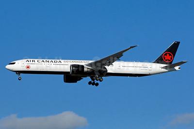 """""""Go Canada Go!"""" Olympic aircraft"""