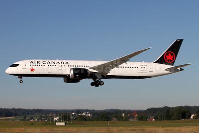 Air Canada Boeing 787-9 Dreamliner C-FRTW (msn 37179) ZRH (Andi Hiltl). Image: 938749.