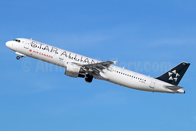 Air Canada Airbus A321-211 C-GITU (msn 1602) (Star Alliance) LAX (Michael B. Ing). Image: 940257.