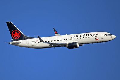 Air Canada Boeing 737-8 MAX 8 C-FSOC (msn 61224) LHR (Keith Burton). Image: 945960.
