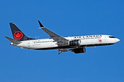 Air Canada Boeing 737-8 MAX 8 C-FSDB (msn 61210) YYZ (TMK Photography). Image: 941179.