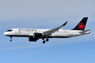 Air Canada Airbus A220-300 (CS300 BD-500-1A11) C-GJYC (msn 55090) YYZ (TMK Photography). Image: 952988.