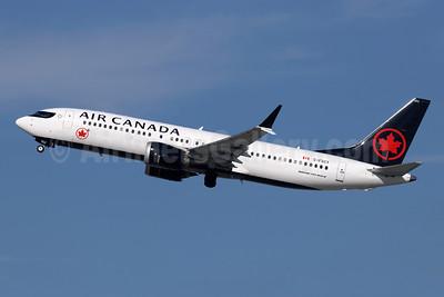 Air Canada Boeing 737-8 MAX 8 C-FSCY (msn 61208) LAX (Michael B. Ing). Image: 945955.