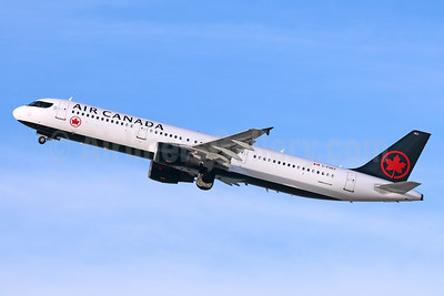 Air Canada Airbus A321-211 C-FGKZ (msn 3401) LAX (Michael B. Ing). Image: 940645.
