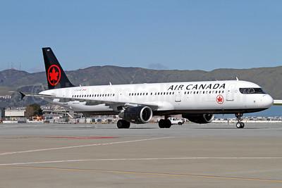 Air Canada Airbus A321-211 C-GJWI (msn 1772) SFO (Mark Durbin). Image: 937311.