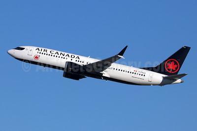 Air Canada Boeing 737-8 MAX 8 C-FSJJ (msn 61217) LAX (Michael B. Ing). Image: 945958.