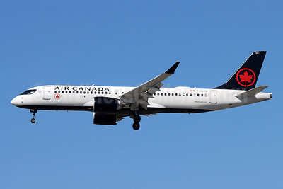 Air Canada Airbus A220-300 (CS300 BD-500-1A11) C-GJXN (msn 55078) SNA (Michael B. Ing). Image: 955614.