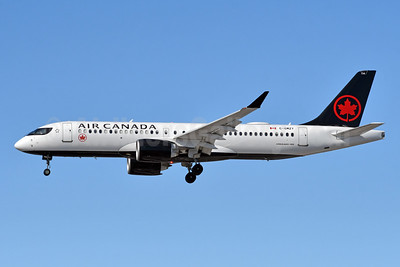 Air Canada Airbus A220-300 (CS300 BD-500-1A11) C-GMZY (msn 55102) YYZ (TMK Photography). Image: 952987.