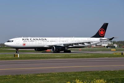 Air Canada Airbus A330-343 C-GFAF (msn 277) AMS (Ton Jochems). Image: 948446.