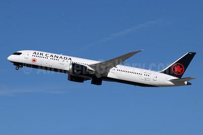 Air Canada Boeing 787-9 Dreamliner C-FVLZ (msn 38358) LAX (Michael B. Ing). Image: 945804.