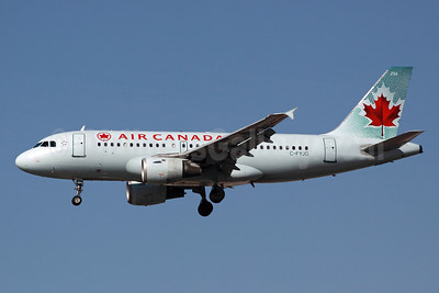 Air Canada Airbus A319-114 C-FYJG (msn 670) LAX (Michael B. Ing). Image: 912088.