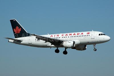 Air Canada Airbus A319-114 C-GAQX (msn 736) FLL (Bruce Drum). Image: 100477.