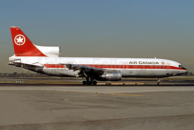 Air Canada Lockheed L-1011-385-1-15 TriStar 100 C-FTNL (msn 1073) LAX (Ron Monroe). Image: 944320.
