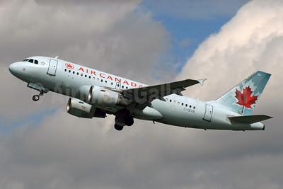 Air Canada Airbus A319-112 C-GITR (msn 1577) LHR (SPA). Image: 929786.