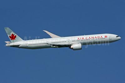 Air Canada Boeing 777-333 ER C-FIVM (msn 35251) LHR (SPA). Image: 929785.
