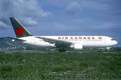 Air Canada Boeing 767-233 C-GAUW (msn 22524) SXM (Christian Volpati Collection). Image: 940544.