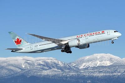 Air Canada Boeing 787-9 Dreamliner C-FGEO (msn 37180) YVR (Steve Bailey). Image: 936508.