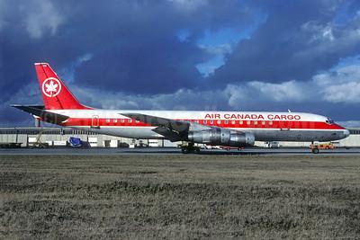 Air Canada Cargo McDonnell Douglas DC-8F-54 Jet Trader C-FTJP (msn 45679) CDG (Christian Volpati). Image: 940091.