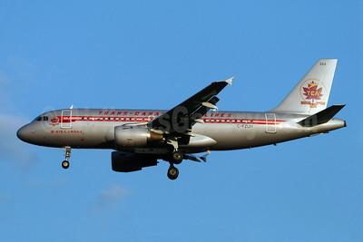 Air Canada-Trans-Canada Air Lines Airbus A319-113 C-FZUH (msn 711) YYZ (TMK Photography). Image: 904213.