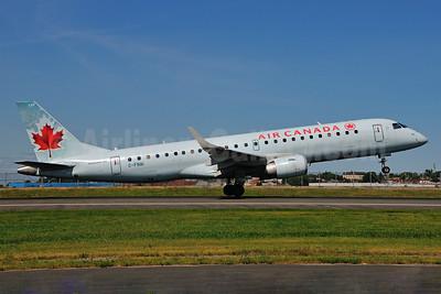 Air Canada Embraer ERJ 190-100 IGW C-FNAI (msn 19000132) LGA (Ken Petersen). Image: 924051.