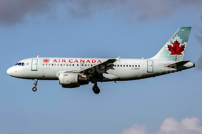 Air Canada Airbus A319-112 C-GITP (msn 1562) SNN (SM Fitzwilliams Collection). Image: 925356.