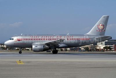 Air Canada-Trans-Canada Air Lines Airbus A319-113 C-FZUH (msn 711) (60 Years - 1937-1997) LAX (Roy Lock). Image: 905104.