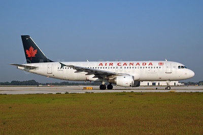 Air Canada Airbus A320-211 C-FTJS (msn 253) MC (Ton Jochems). Image: 954000.