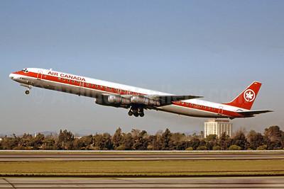 Air Canada McDonnell Douglas DC-8-61 C-FTJY (msn 45964) LAX (Ron Monroe). Image: 944318.