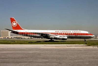 Air Canada Cargo McDonnell Douglas DC-8F-54 Jet Trader C-FTJP (msn 45679) LAX (Ron Monroe). Image: 944319.
