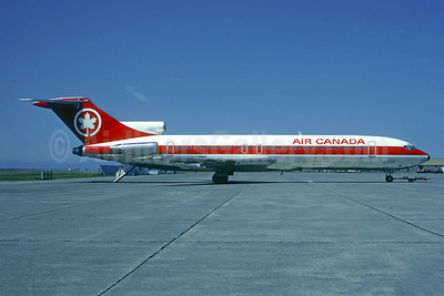 Air Canada Boeing 727-233 C-GYNM (msn 22623) YVR (Christian Volpati Collection). Image: 944322.