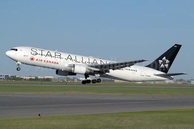 Air Canada Boeing 767-333 ER C-FMWY (msn 25587) (Star Alliance) YYC (Chris Sands). Image: 927898.