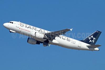 Air Canada Airbus A320-211 C-FDRH (msn 073) (Star Alliance) LAX (Michael B. Ing). Image: 936405.