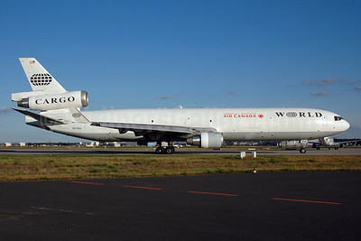 Air Canada-World Airways McDonnell Douglas MD-11 (F) N275WA (msn 48631) FRA (Bernhard Ross). Image: 901270.