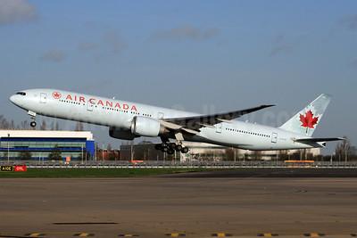 Air Canada Boeing 777-333 ER C-FITU (msn 35254) LHR (SPA). Image: 902892.