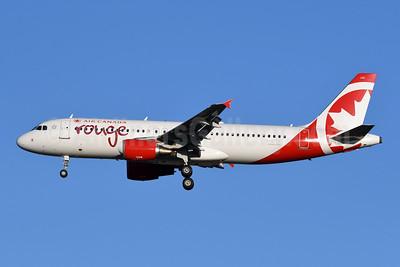 Air Canada rouge (Air Canada) Airbus A320-214 C-GFCP (msn 3123) YYZ (TMK Photography). Image: 947216.