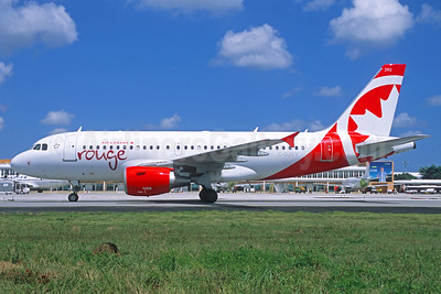 Air Canada rouge (Air Canada) Airbus A319-112 C-GJVY (msn 1742) (Jacques Guillem Collection). Image: 937714.