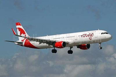 Air Canada rouge (Air Canada) Airbus A321-211 WL C-FJOK (msn 6844) FLL (Brian McDonough). Image: 937717.