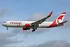 Air Canada rouge (Air Canada) Boeing 767-316 ER WL C-FMLV (msn 26327) LGW (Keith Burton). Image: 934773.