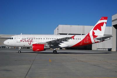 Air Canada rouge (Air Canada) Airbus A319-112 C-GJVY (msn 1742) YMX (Gilbert Hechema). Image: 912369.