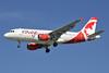 Air Canada rouge (Air Canada) Airbus A319-114 C-FYNS (msn 572) YVR (Steve Bailey). Image: 924527.