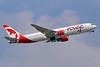 Air Canada rouge (Air Canada) Boeing 767-35H ER C-GHLA (msn 26387) LGW (Keith Burton). Image: 933472.