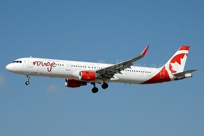 Air Canada rouge (Air Canada) Airbus A321-211 WL C-FJQH (msn 6905) LAS (Jay Selman). Image: 403344.