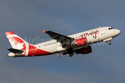 Air Canada rouge (Air Canada) Airbus A319-114 C-GARJ (msn 752) YVR (Brandon Farris). Image: 931595.