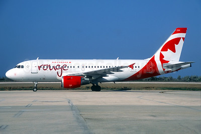 Air Canada rouge (Air Canada) Airbus A319-114 C-FYJP (msn 688) (Jacques Guillem Collection). Image: 937716.