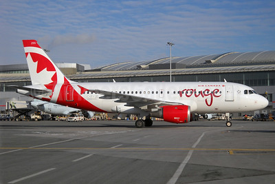 Air Canada rouge (Air Canada) Airbus A319-114 C-FYJE (msn 656) YYZ (TMK Photography). Image: 922050.