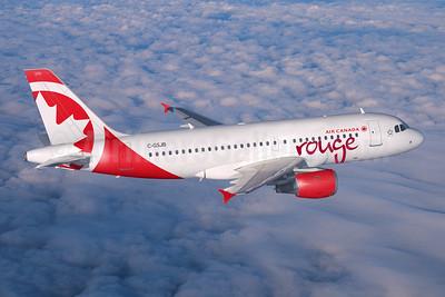 Air Canada rouge (Air Canada) Airbus A319-112 C-GSJB (msn 1673) (Air Canada). Image: 945701.