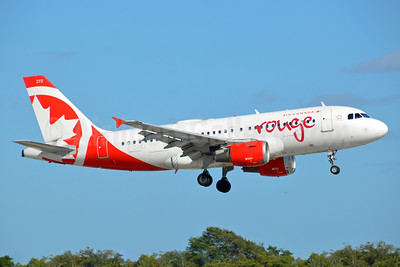 Air Canada rouge (Air Canada) Airbus A319-114 C-GARJ (msn 752) FLL (Bruce Drum). Image: 104480.