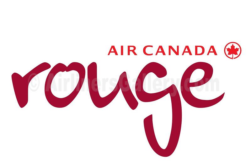 1. Air Canada Rouge logo