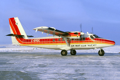 Air Inuit de Havilland Canada DHC-6-300 Twin Otter C-GMDC (msn 763) (Jacques Guillem Collection). Image: 955173.