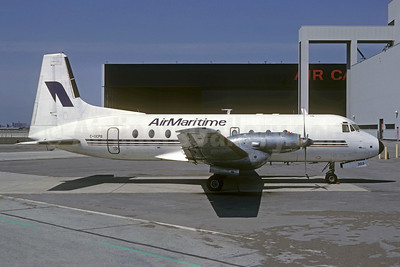 Air Maritime Hawker-Siddeley HS.748-254 Series 2A C-GEPB (msn 1686) YYZ (Christian Volpati Collection). Image: 951487.